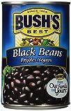 Bush's Best BLACK BEANS 15oz (2 Pack)