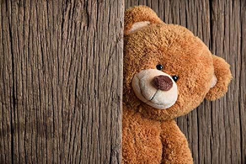 Rompecabezas de 1500 Piezas, Rompecabezas de madera, Juego de Rompecabezas de relajación, Rompecabezas para el Cerebro, Regalo para niños y Adultos (87x57cm) Oso de peluche de madera vieja