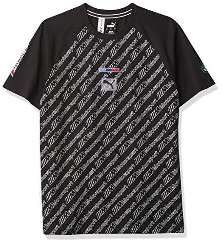 Formel 1 BMW M Motorsport Herren-T-Shirt, Puma, Schwarz, M