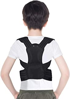 Posture Corrector for Kids, Upper Back Posture Brace for Teenagers Under Clothes Spinal Support to Improve Slouch, Prevent Humpback, Relieve Back Pain