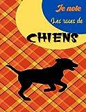 Je note les races de chiens: Dans ce carnet GRAND FORMAT à remplir, vous pourrez créer un livre regroupant toutes les informations relatives aux ... de chiens. pour amateurs ou professionnels.