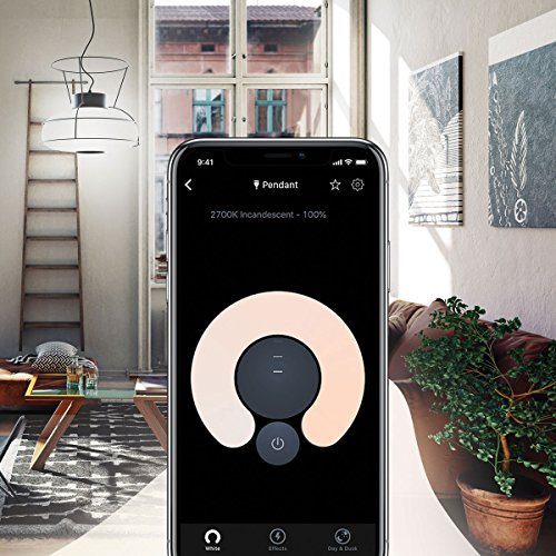 LIFX Mini White (B22) Wi-Fi Smart LED Light Bulb, Dimmable, Warm White, No Hub Required, Works with Alexa, Apple HomeKit and The Google Assistant