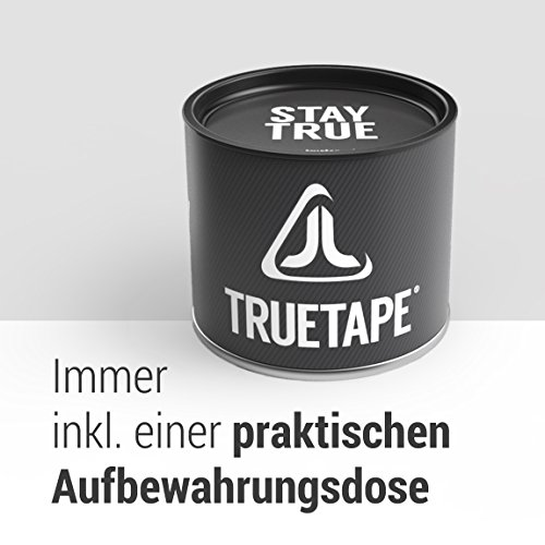 TRUETAPE ATHLETE EDITION | vorgeschnittenes Kinesiologie Tape | True Lime | Physio-Tape | Kinesiotapes | 20 vorgeschnittene Streifen | CE Zertifiziert | Farbauswahl | Aufbewahrungsbox | 40 Anleitungen - 6