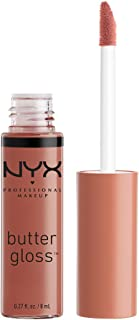 NYX PROFESSIONAL MAKEUP Butter Gloss, Praline, 0.27 Ounce