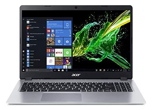 Acer Aspire 5 Slim A515-43 15.6-inch Laptop (AMD Ryzen 5 3500U qual-core processor/8GB/512GB SSD/Window 10, Home 64-Bit/MSO/AMD Radeon Vega 8 Mobile Graphics), Silver