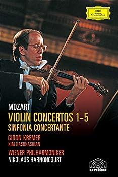 Mozart Violin Concertos 1-5 & Sinfonia Concertante in E Flat / Harnoncourt Kremer Wiener Philharmoniker