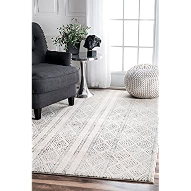 nuLOOM 200RZBD40A-203 Sarina Diamonds Area Rug, 2' x 3'