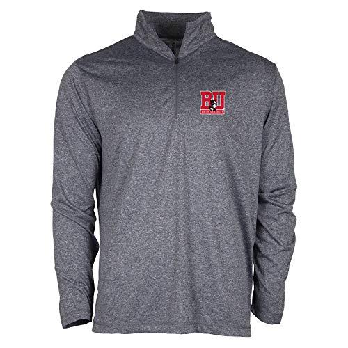 Ouray Sportswear NCAA Boston University Terriers Herren Confluence 1/4 Zip Confluence 1/4 Reißverschluss, Athletic Heather, XL