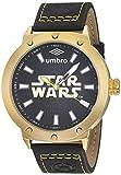 Reloj Umbro Star Wars Unisex , pulsera de Piel de Becerro
