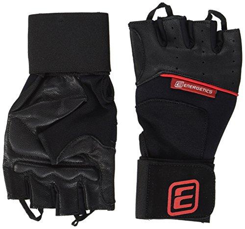 ENERGETICS Training 710 Handschuhe, Black/Rot, One Size