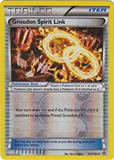 Pokemon - Groudon Spirit Link (131/160) - XY Primal Clash - Reverse Holo