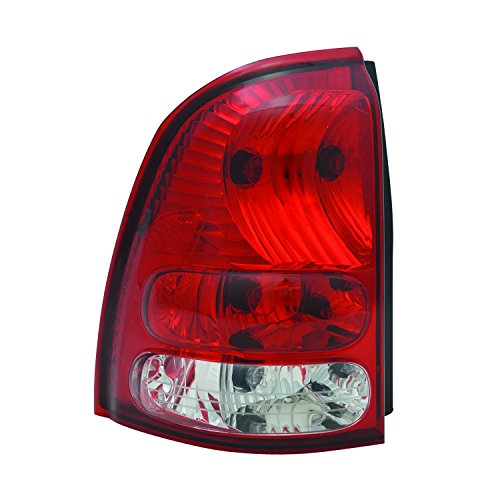 TYC 11-6508-00-1 Compatible with Buick Rainier Left Replacement Tail Lamp