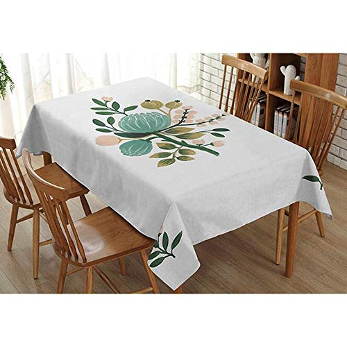 Home Decoration Tuin Tafelkleed Art Restaurant Creatieve Tafelkleed Woonkamer Theetafel Stofdicht Tafelkleed (Verschillende Maten) (Kleur : 11, Maat : 140cm*200cm)