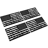 Creatrill Reflective Tattered Subdued American Flags...