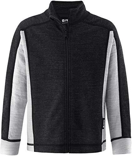 Reima Polmak Sweater Kinder Black Melange Kindergröße 116 2020 Jacke