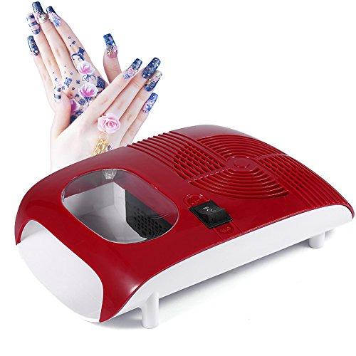 Soplador de secador de esmalte de uñas de aire caliente / frío con ventilador Herramientas de manicura para esmalte de gel de secado de uñas