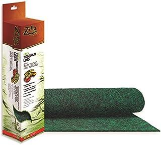 Zilla ZL70061 Reptile Terrarium Bedding Substrate Liner, Green, 55G