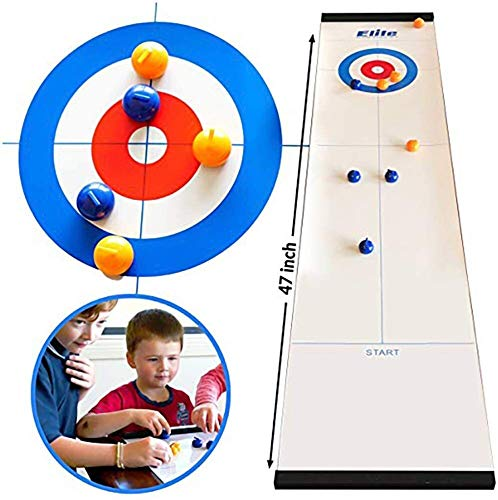 Curling Game Table Top Curling Game familie bordspellen for kinderen en volwassenen