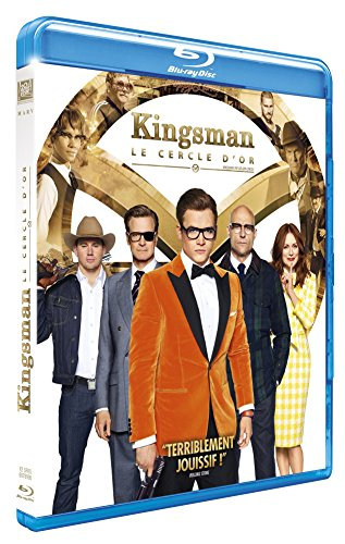 Kingsman : Le cercle d'or- BluRay [Blu-ray] [Blu-ray + Digital HD] [Blu-ray + Digital HD]