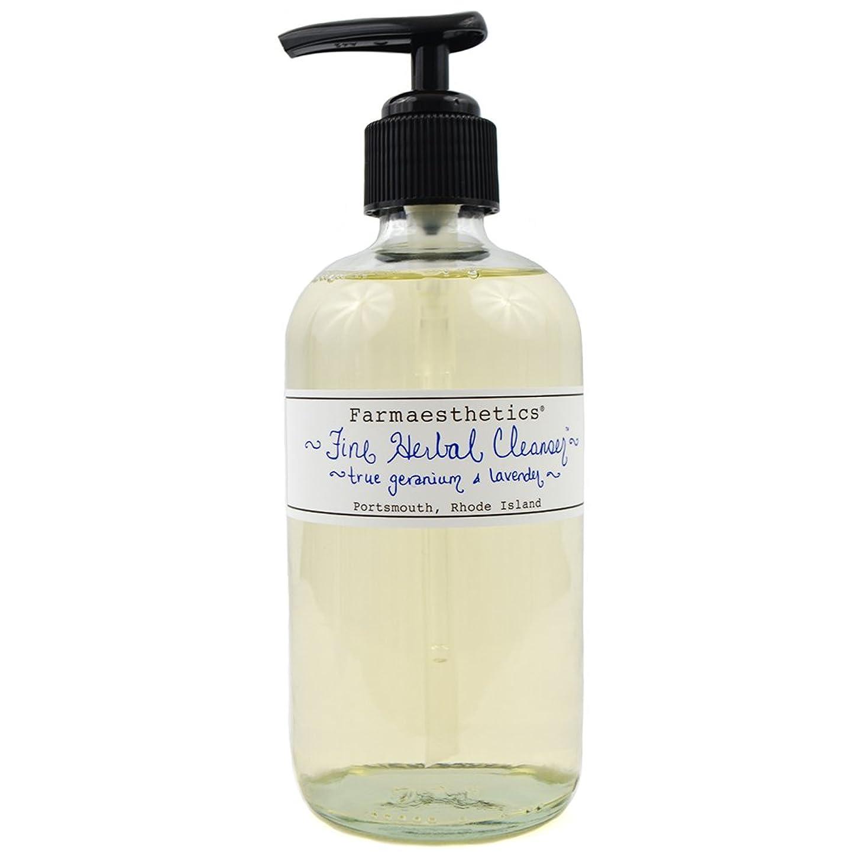 切手気分が悪い教えてファイン ハーバル クレンザー 【クレンジング】Fine Herbal Cleanser by Farmaesthetics