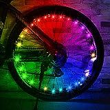 Dreamingbox Luces de Rueda de Bicicleta, Juguetes Niños 5 6 7 8 9 10 11 12 Años Accesorios para Bicicletas Regalos para Niños Niñas de 5-16 Años Juegos Niños 5-16 Años Regalos Niños Niñas 5-16 Años