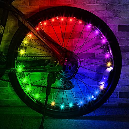 Dreamingbox Luci Bicicletta LED,Giocattoli Bambino 5-16 Anni Giocattoli per Bambini 3-13 Anni Regali Bambina 5 6 7 8 9 10 11 12 Anni