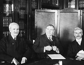1925 photo Senator A.B. Cummins, Attorney General Stone, and Senator Thomas J f5