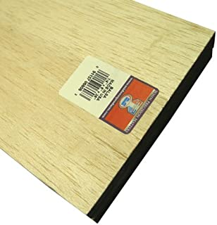 Midwest Products 6606 Micro-Cut Quality Balsa 36-Inch Sheet Bundle, 0.25 x 6 Inches