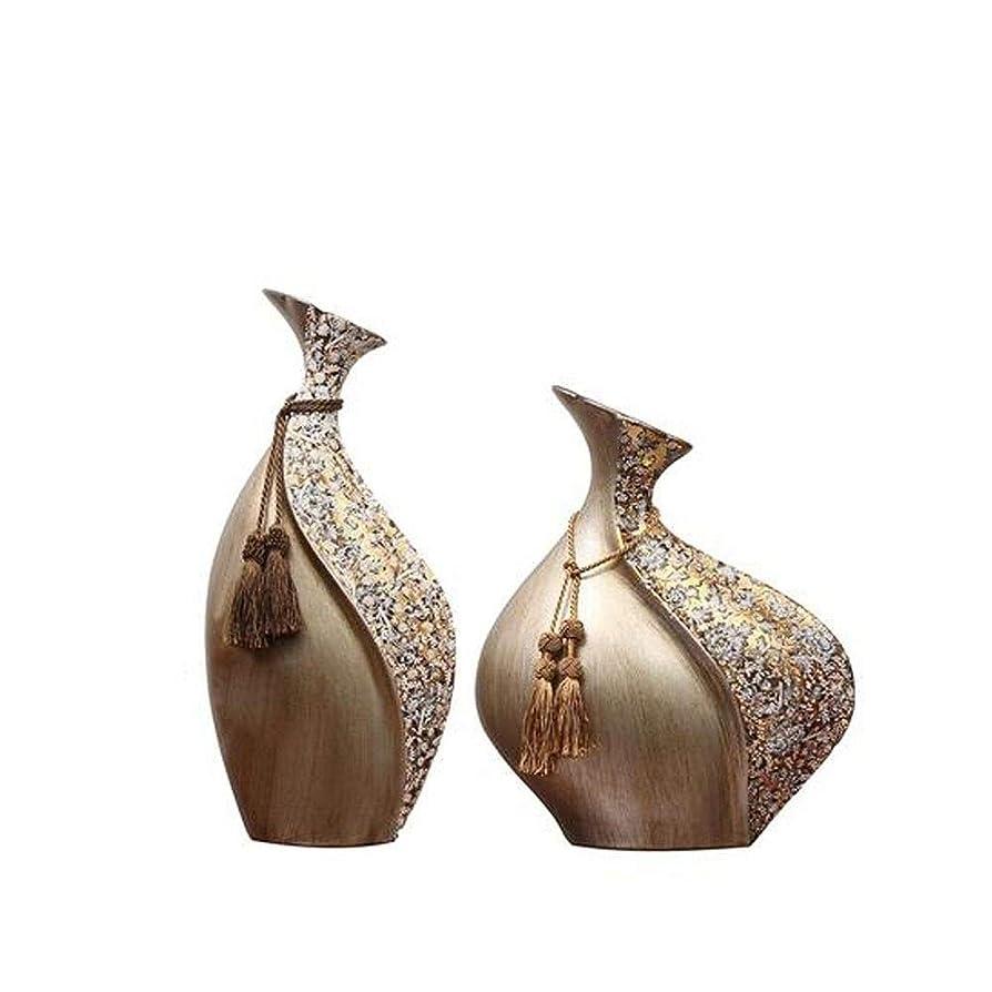 管理します売り手肺炎LKSPD ホームアクセサリー、創造的なレトロな小口コレクション花瓶装飾、花道具リビングルームクラフトセラミック花瓶ジュエリー (Color : Brown, Size : 22*48cm)