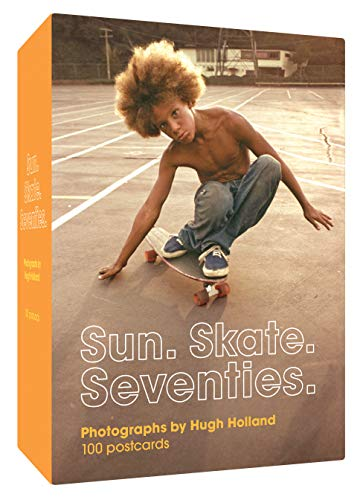 Compare Textbook Prices for Sun. Skate. Seventies.: 100 Postcards: – Box of Collectible Postcards Featuring Lifestyle Photography from the Seventies, Great Gift for Fans of Vintage Photography, Fashion, and Skateboarding  ISBN 9781452182070 by Holland, Hugh