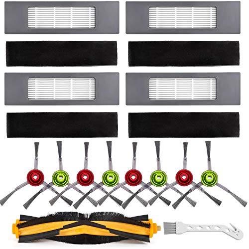 Pineapplen Kit de Piezas de Repuesto para Deebot OZMO 920, 950, T5, T8 AIVI Robot Aspirador Accesorios Kit Cepillos Filtros