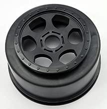 DE Racing Trinidad SC Wheel-Assoc SC8- DB8/17mm hex/Black/4pcs TS417B