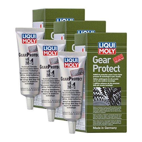 3x LIQUI MOLY 1007 Gear Protect Getriebeöl Schutz Additiv 80ml
