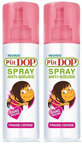 Dop P'tit Dop Spray Démêlant Anti-Nœuds Fraise-Cerise 200.0 ml - Lot de 2