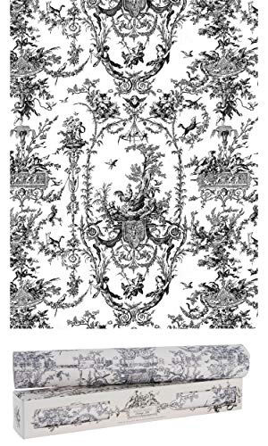 Scentennials Scented Drawer and Shelf Liners - Toile Print - Six (6) Large 16.5 x 22 Inch Non-Adhesive Sheets - Perfect for Closet Shelves and Dresser Drawers (Vintage Toile)