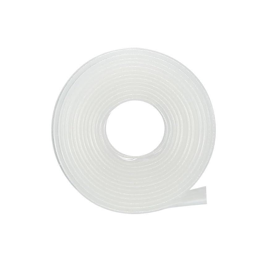 宗教的な語販売計画uxcell 電気絶縁チューブ 熱収縮チューブ ワイヤ接続チューブ 縮小率2:1 直径8mm 長さ1m クリア