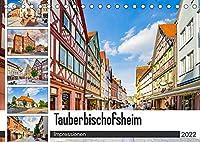 Tauberbischofsheim Impressionen (Tischkalender 2022 DIN A5 quer): Die Stadt Tauberbischofsheim dargestellt auf zwoelf einmaligen Bildern (Monatskalender, 14 Seiten )