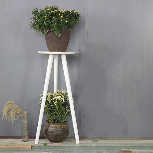 JBP Max Bloemenstandaard Living Room Houten bloem Stand Balcony Living Room Simple Solid Wood Shelf Rack JBP3