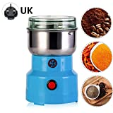 Electric Coffee Grinder, 150W Multifunction Smash Machine, Stainless Steel Blades Coffee And Spice Grinder, Low Noise Grain Grinder Food Spice Mill For Seed Bean Nut Herb Grain Pepper