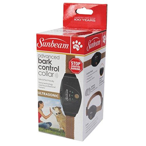 Sunbeam Advanced Ultrasonic Bark Control Dog Collar