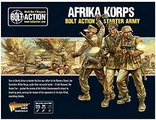 Bolt Action Afrika Korps German Grenadiers Western Desert Starter Army Pack 1:56 WWII Military Wargaming Plastic Model Kits