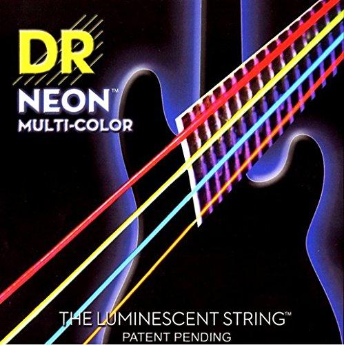 【2セット】DR NMCB-45 [45-105] NEON マルチカラー ベース弦