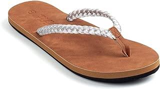 Plaka Flip Flops for Women Coral