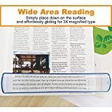 MagDepo Bar Magnifier 3X Handsfree 8 inch Reading Magnifying Glass with 2X Small Bar Magnifier Easy Carry Around for...