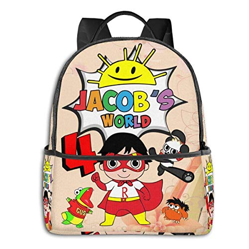 AOOEDM Ryan's World Backpack Large Capacity Fashion Men's Backpack-Multi-Purpose