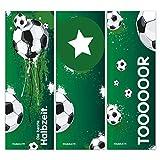 younikat 12er Set Fußball-Lesezeichen I 3 Coole Motive I für Kinder Jungen I Einschulung Schulanfang Schultüte I dv_647