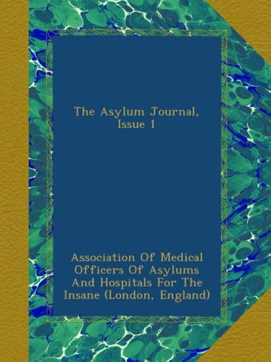 悪化する影のある申し立てられたThe Asylum Journal, Issue 1