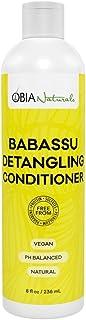 Obia Naturals Babassu Detangling Conditioner, 8 Oz