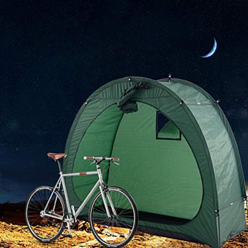 QLIGHA Bicycle Parking Shed Tent for Outdoor Storage with Window Design Waterproof Dustproof Insect Proof Suitable for Camping Save Space