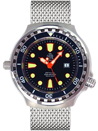 Tauchmeister 1937 T0079MIL - Reloj, Correa de Acero Inoxidable